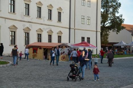 Debut cu puţini ofertanţi şi participanţi la Zilele Culturii Maghiare din Cetate (FOTO)