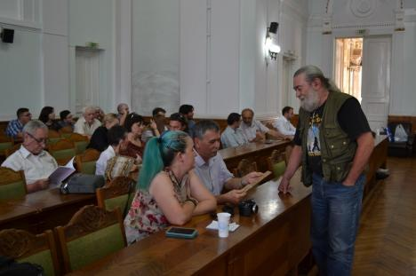 Premiat la Zilele Revistei Familia, filozoful Mihai Şora a vizitat meleagurile copilăriei: 'Mă simt acasă în Bihor' (FOTO)