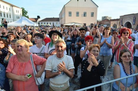 Atmosferă boemă, dar lume mai puțină, sâmbătă, la Zilele Sfântului Ladislau. Vezi VIDEO și FOTOREPORTAJ!