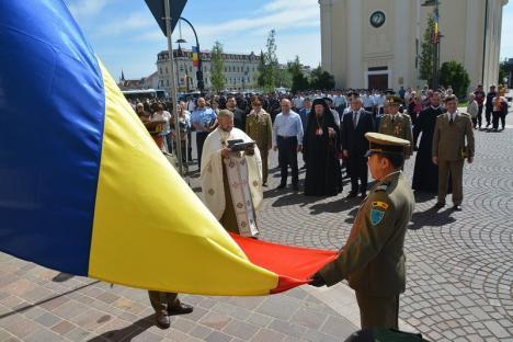 Ziua Drapelului Național va fi sărbătorită miercuri și la Oradea