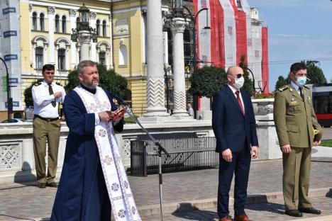 """""""O manifestare de suflet"""": Ziua Imnului, sărbătorită în centrul Oradiei (FOTO / VIDEO)"""