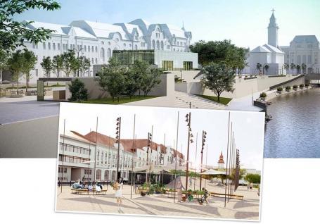 """Pupat Piața Independenței! Primarul de Oradea rupe contractul pentru """"pădurea de țepi"""" proiectată în centrul orașului"""
