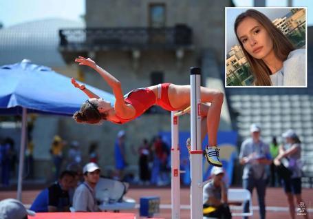 Tot mai sus! Atleta anului 2020 în Bihor, Alesia Rengle ţinteşte la doar 17 ani campionatul mondial (FOTO)