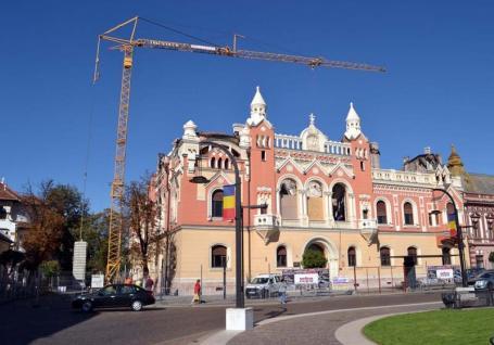 Foc la secret: Incendiul de la Palatul Episcopal din Oradea a fost provocat de instalaţia de iluminat