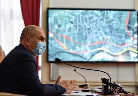 Noutăţi despre centura Beiuşului: ar putea trece prin incinta unui actual depozit militar, din care Bolojan ar 'rupe' teren şi pentru un parc industrial