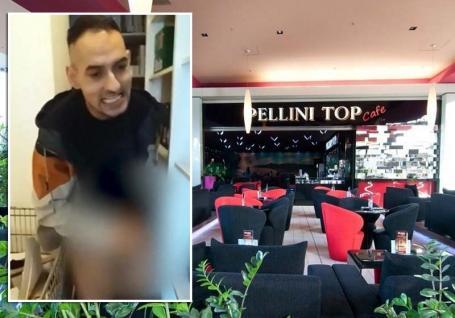 """Scene şocante într-o cafenea populară din Lotus Oradea: Un tânăr s-a """"jucat"""" cu penisul printre produsele din magazie! (VIDEO)"""