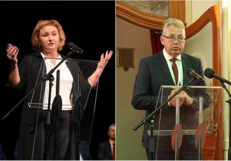 Elvira Rîmbu, pusă manager 'plin' la Teatrul Regina Maria după ce l-a dat în judecată pe Pásztor