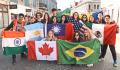 """""""Iubim Oradea!"""": Tineri de peste Ocean aflați în schimb de experiență în România laudă Oradea în limba română (VIDEO)"""