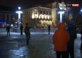 Protest în centrul Oradiei împotriva noului proiect de OUG făcut în beneficiul celor condamnaţi pentru corupţie (VIDEO)