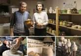 Mâini fermecate: De cinci generaţii, o familie din Vadu Crişului creează vase unice prin olărit (FOTO / VIDEO)