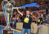 Cristian Achim, antrenorul echipei CSM CSU Oradea, campioana României la baschet masculin: 'Mă simt apreciat şi iubit în Oradea' (FOTO)