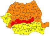 Cod portocaliu de vânt în Bihor. Vântul va avea viteze de 95 km/h!