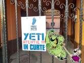 Yeti de Oradea: Atenție, nu intrați, monstru rău!