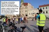 Pedalează cu Miluţ: Cum au 'deturnat' pesediştii o întrunire a bicicliştilor în scop electoral (FOTO)