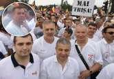 Protest cu inculpaţi: Printre participanţii la mitingul PSD-ALDE s-au numărat şi doi celebri 'abuzaţi' din Bihor