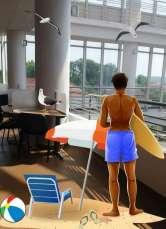 Saună la Sorbonică: Biblioteca Universităţii din Oradea îşi sufocă vizitatorii