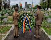 Războiul coroanei: Andrica le cere instituţiilor să depună la ceremoniile din cimitir doar coroane 'eco'
