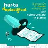 Harta Deplastificat: Locurile din Oradea unde primeşti gratuit apă potabilă