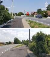 Accesul interzis: Indicator care forțează șoferii să încalce regulile de circulație pe DN 1, la Tileagd