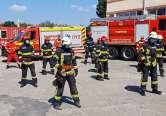 Pompieri la modă: Militarii ISU Timiş au dansat pe 'Jerusalema' (VIDEO)