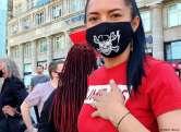O prostituată româncă protestează în Germania pentru redeschiderea bordelurilor: 'Am o fiică și trebuie să o întrețin'