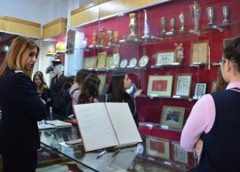 Un grup de elevi din Grecia, primii vizitatori ai Muzeului Pompierilor Bihoreni (FOTO)