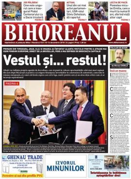 Nu rataţi noul BIHOREANUL tipărit: Motivul pentru care primarii din Oradea, Timişoara, Cluj şi Arad au înfiinţat Alianţa Vestului
