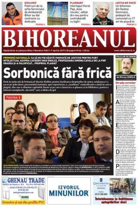 Nu rataţi noul BIHOREANUL tipărit: În premieră naţională, o profesoară de la FMF Oradea şi-a falsificat... propriul plagiat
