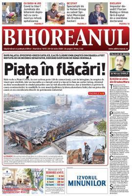 Nu ratați noul BIHOREANUL tipărit! Incendiul de la Piața Mare a pregătit terenul pentru viitorul centru comercial