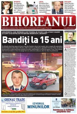Nu rataţi noul BIHOREANUL tipărit: Povestea adolescentului care a intrat cu maşina într-un poliţist din Oradea
