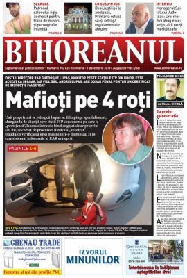 """Nu ratați BIHOREANUL tipărit! Fostul şef al RAR Oradea, Gheorghe Lupaş, şi fiul său sunt """"eroii"""" unui scandal cu ITP-uri falsificate"""