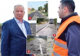 Asfalt Mango: CJ Bihor 'toacă' 28,5 milioane de lei pentru asfaltări stabilite discreţionar de vicepreşedintele Ioan Mang