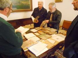 'Judeţele de graniţă şi Centenarul': Expoziţie de presă şi carte veche la Muzeul Iosif Vulcan (FOTO)