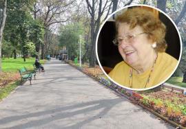 Aleea doamnei Anna: Florarul Marius Sabău adună semnături pentru ca aleea principală din Parcul Libertăţii să poarte numele Anna Marosy