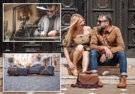 Made in Oradea: Doi orădeni, soț și soție, creează genți de lux unicate, pentru clienți din toată lumea (FOTO)