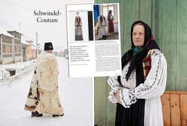 Abureala-Couture: Un reportaj amplu despre păcăleala Bihor Couture a apărut într-o revistă din Germania (FOTO)