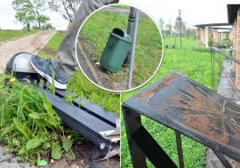 În paza Domnului: Parcurile din Oradea sunt vandalizate constant din cauză că Primăria vrea să facă economii (FOTO)