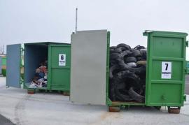 Centrul de colectare selectivă, un succes: Aproape 1200 de tone de deșeuri în 10 luni!