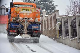 Oradea, deszăpezită cu sare din... Ungaria