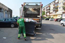 RER Vest, program de Paşte: Deşeurile se colectează fără întrerupere