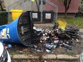 Ne enervează: Vandalii au incendiat mai multe igluuri din oraș