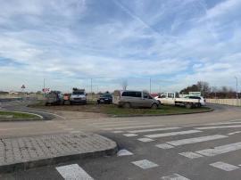 Ne enervează: parcarea improvizată de pe strada Thurzo Sandor din Oradea