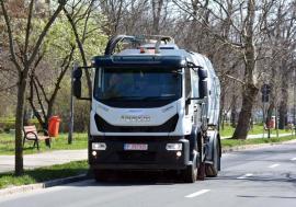 Salubrizare modernizată în Oradea: RER Vest a investit 700.000 euro pentru a-şi îmbogăţi parcul cu 6 autospeciale moderne