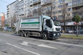 Curăţenie fără vacanţă: RER Vest va asigura curăţenia oraşului inclusiv în zilele de sărbătoare