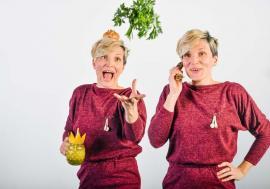 Gurmandă chibzuită: Camelia Gui vrea să-i înveţe pe orădeni să respecte mâncarea şi să nu mai risipească alimentele