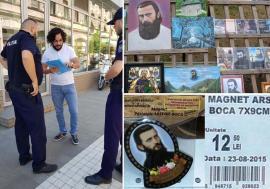 Cruciadă pentru Boca: Orădenii care au înregistrat marca Arsenie Boca, daţi în judecată de Biserică