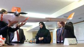 Drone anti-secetă: Soluție inedită, găsită de Emiratele Arabe pentru a aduce ploaia
