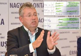 Turistul şef: Consiliul Judeţean Bihor ascunde deplasări pe care preşedintele Pásztor Sándor le face fără a le motiva