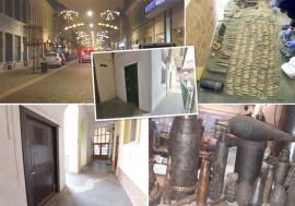 """""""Bombardier"""" de Oradea: Bărbatul care a colecţionat în propria casă 1.300 proiectile riscă să rămână orb (FOTO)"""