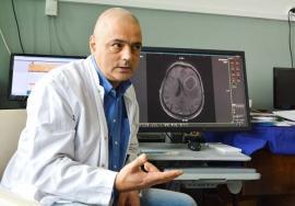 Dr. Alin Blaga, noul şef al Secţiei de Neurochirurgie din Spitalul Judeţean: 'În Oradea s-a mers multă vreme cu frâna de mână trasă'